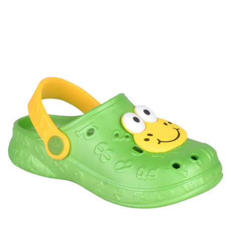 Detské kroksy (rekreačná obuv) COQUI-Hoppa lime