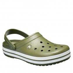 Kroksy (rekreačná obuv) CROCS-Crocband army green