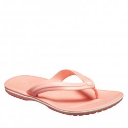 Dámska obuv k bazénu (plážová obuv) CROCS-Crocband Flip melon/white