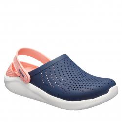 Dámska rekreačná obuv CROCS-LiteRide Clog navy/melon