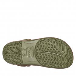 Kroksy (rekreačná obuv) CROCS-Crocband Seasonal Graphic Clog army green/melon