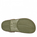 Kroksy (rekreačná obuv) CROCS-Crocband Seasonal Graphic Clog army green/melon -