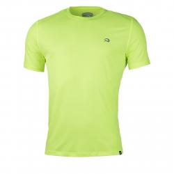 Pánske bežecké tričko s krátkym rukávom NORTHFINDER-TWQNY-lightgreen
