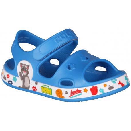 Detské sandále COQUI-Fobee TT&F sea blue/white