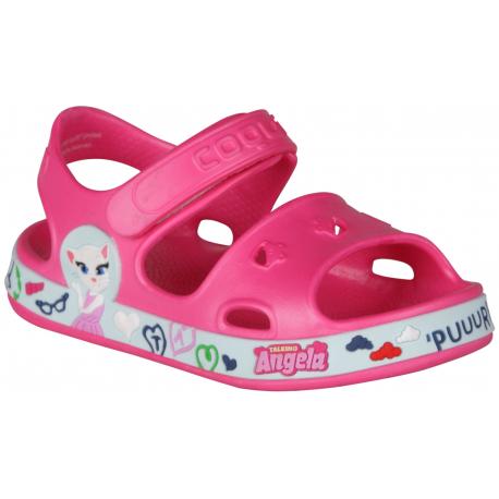 Dětské sandály COQUI-Fobee TT & F fuchsia / mint