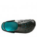 Dámske kroksy (rekreačná obuv) COQUI-Jumper black/turquoise -