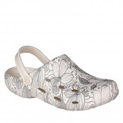 Dámske kroksy (rekreačná obuv) COQUI-Tina pearl blooming flowers