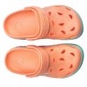 Detské kroksy (rekreačná obuv) COQUI-Froggy coral hearts -