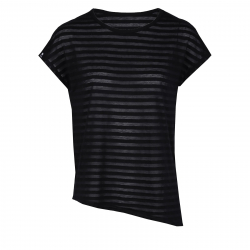 Dámske tréningové tričko s krátkym rukáv FUNDANGO-Betta-black