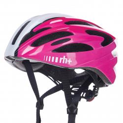 Cyklistická prilba RH+-RH+ Z Zero- shiny white/shiny black/shiny fuchsia