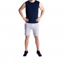 Pánske tričko bez rukávov VOLCANO-T-TANK Blue dark -
