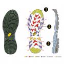 Pánska turistická obuv vysoká HEAD HEAD KENYA-Brown -