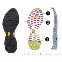 Pánska turistická obuv nízka HEAD HEAD REBEL BUCH LOW-Black -