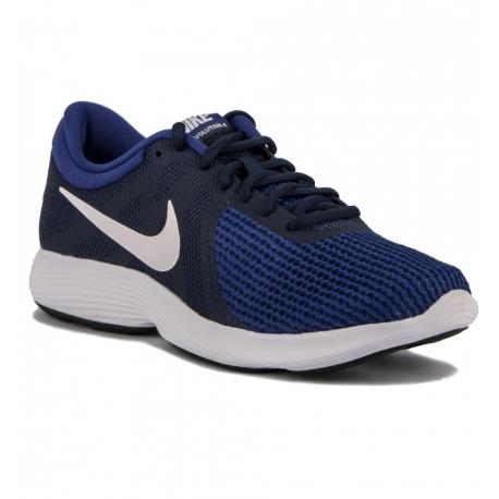 Pánska športová obuv (tréningová) NIKE-Revolution 4 EU midnight navy/white/deep royal blue