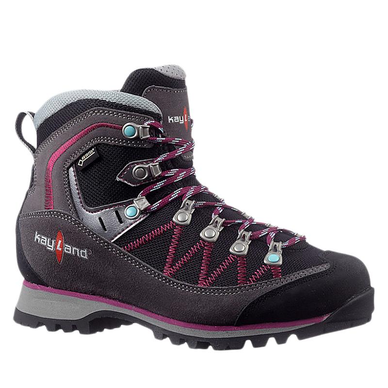 Dámska turistická obuv vysoká KAYLAND-Plume Micro Ws GTX grey -