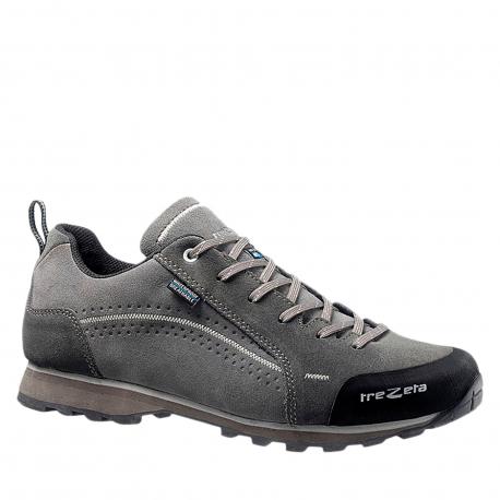 Pánska turistická obuv nízka TREZETA-Flow Evo WP grey/anthracite