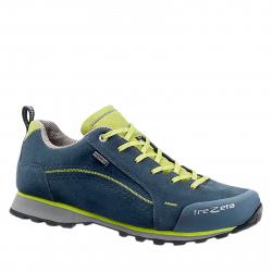 Pánska turistická obuv nízka TREZETA-Flow Evo WP blue/green