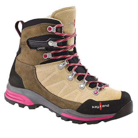 Dámska turistická obuv vysoká KAYLAND-Titan Rock Ws GTX beige