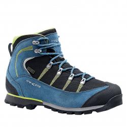 Pánska turistická obuv vysoká TREZETA-Maori WP blue/lime