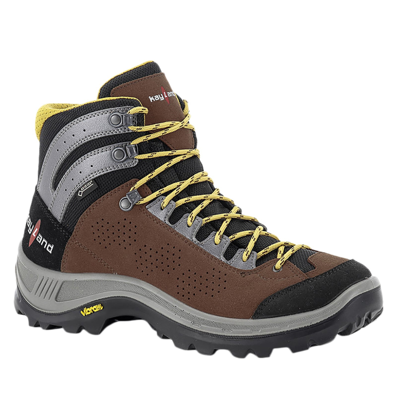 Pánska turistická obuv vysoká KAYLAND-Impact GTX brown -