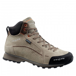 dfbd6fff70576 Dámska turistická obuv stredná TREZETA-Spring Evo WP mid sand/walnut