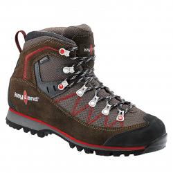 Pánska turistická obuv vysoká KAYLAND-Plume Micro GTX brown