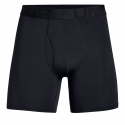 Pánske boxerky UNDER ARMOUR-Tech Mesh 6in 2 Pack-BLK -
