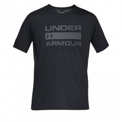 Pánske tréningové tričko s krátkym rukávom UNDER ARMOUR-UA TEAM ISSUE WORDMARK SS-BLK
