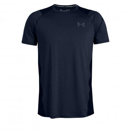 Pánske tréningové tričko s krátkym rukávom UNDER ARMOUR-MK1 SS EU SMU-NVY