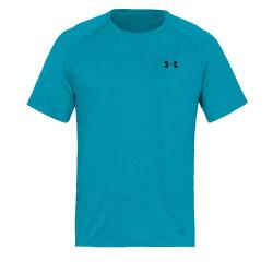 Pánske tréningové tričko s krátkym rukáv UNDER ARMOUR-UA Tech SS Tee 2.0-BLU