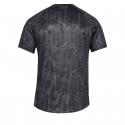 Pánske tréningové tričko s krátkym rukáv UNDER ARMOUR-UA Tech SS Printed 2.0-BLK -