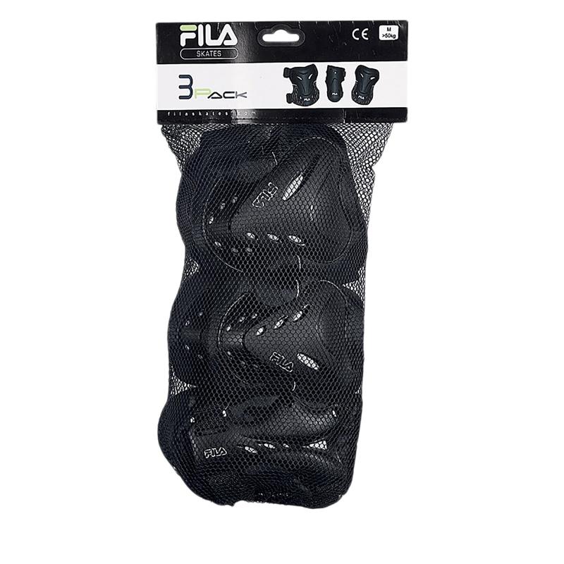Chránič na brusle FILA SKATES-FILA FP MEN GEARS BLACK / SILVER -