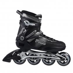Fitness kolieskové korčule FILA SKATES-REPTIX 84 BLACK/SILVER