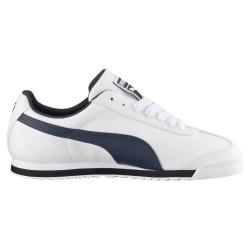 ea902abdcc64 Pánska rekreačná obuv PUMA-Roma Basic white new navy