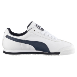 cc505b671ce0 Pánská rekreační obuv PUMA-Roma Basic white   new navy