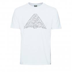 Pánske turistické tričko s krátkym rukáv BERG OUTDOOR-CRUX white