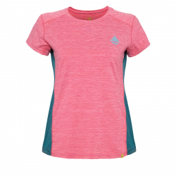 34443be08456 Dámske turistické tričko s krátkym rukáv BERG OUTDOOR-CANIS pink