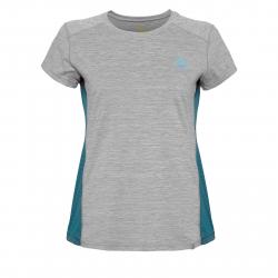 Dámske turistické tričko s krátkym rukáv BERG OUTDOOR-CANIS grey