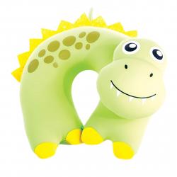 Vankúš SPOKEY-BAMBINI Cestovní polštářek dětský mikrokuličky dinosa