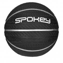 Basketbalová lopta SPOKEY-MAGIC Basketbalový míč černý s bílým vel.7