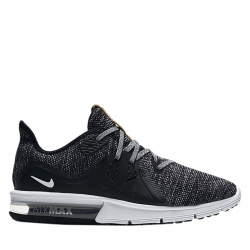 Dámska bežecká obuv NIKE-WMNS NIKE AIR MAX Sequent 3 black/dark grey/white
