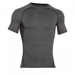 Pánske tréningové tričko s krátkym rukávom UNDER ARMOUR-UA HG ARMOUR SS-GRY