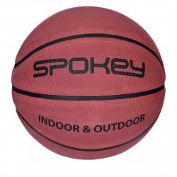 Basketbalová lopta SPOKEY-BRAZIRO II Basketbalový míč hnědý vel.6