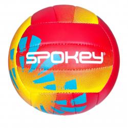 Volejbalová lopta SPOKEY-BEACH FUN Volejbalový míč červeno-žlutý č.5
