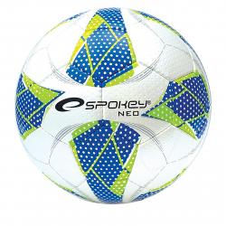 Futbalová halová lopta SPOKEY-NEO FUTSAL II Míč na halový fotbal modrý č.4