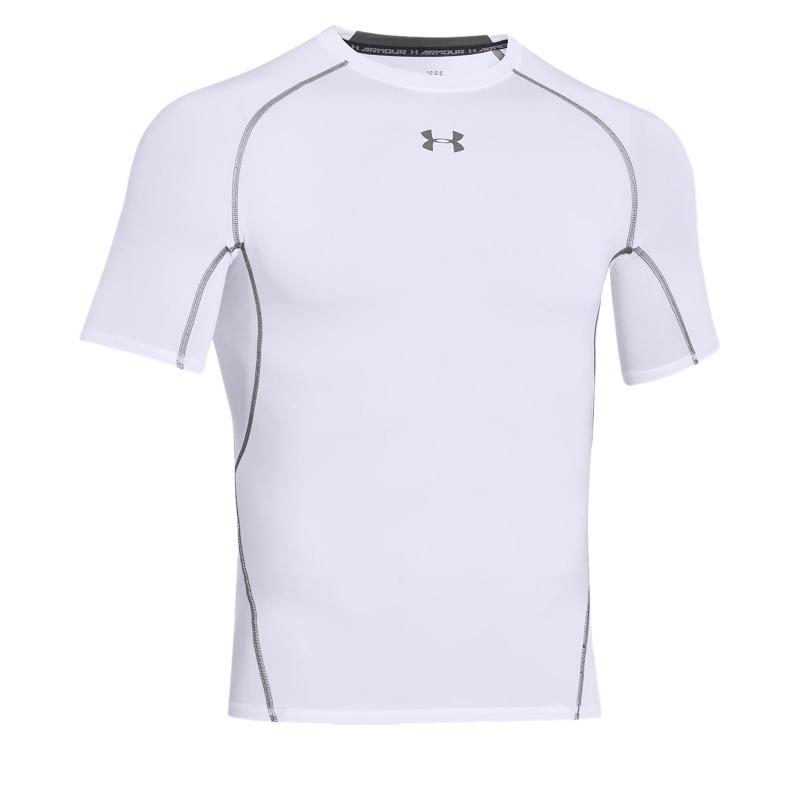 08ed78bc5480 Pánske tréningové tričko s krátkym rukáv UNDER ARMOUR-UA HG ARMOUR SS-WHT -