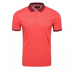 Pánske polo tričko s krátkym rukávom VOLCANO-T-SORN