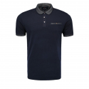 Pánske polo tričko s krátkym rukávom VOLCANO-T-VIB Blue -