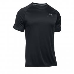 Pánske bežecké tričko s krátkym rukávom UNDER ARMOUR-SPEED STRIDE SHORT SLEEVE-BLK