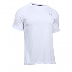 6824539faa38 Pánske bežecké tričko s krátkym rukávom UNDER ARMOUR-SPEED STRIDE SHORT  SLEEVE-WHT